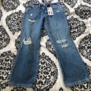 High Waisted Kick Flare FOREVER21 Jeans